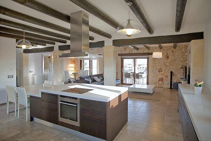 Küche Und Wohnzimmer Zusammen Wohnzimmer Und Küche In Einem Raum ...