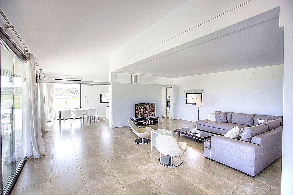 Neues wohnzimmer in der finca vell de muro alcudia holidays - Neues wohnzimmer ...